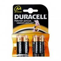 Батарейка DURACELL Turbo формата AA (LR06) 4шт./уп.