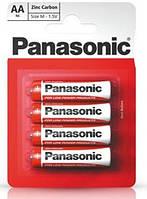 Батарейка Panasonic Red Zink R06 4шт./уп.