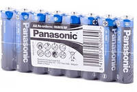 Батарейка АА Panasonic General Purpose R6 Tray 4 ZINK-CARBON R06 8шт./уп. пленка