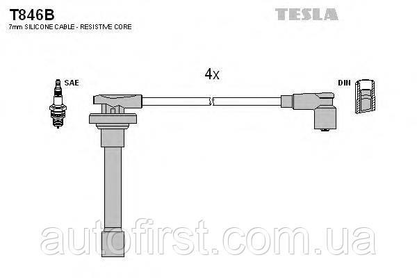 Tesla T846B Высоковольтные провода Honda