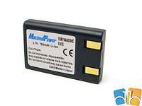 Батарея Drobak для видеокамеры/фотокамеры PANASONIC CGR-S101E