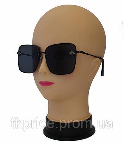 Женские стильные солнцезащитные очки, сонцезахисні окуляри 1581, фото 2