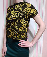 Женская футболка топ с принтом topshop