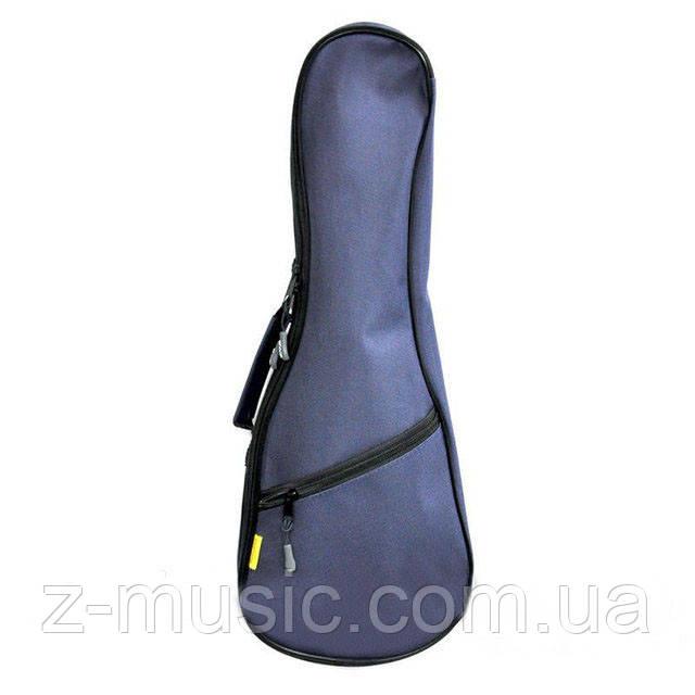 Чехол водонепроницаемый для укулеле сопрано UK21, синий