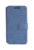 Боковая книжка Florence Travel для LG K220DS X Power чехол футляр, откидная обложка, боковая книжка