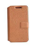 Боковая книжка Florence Travel для Xiaomi Redmi 4 Prime чехол футляр, откидная обложка, боковая книжка