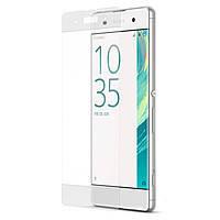 Бронированное стекло Utty Edge для Sony Xperia XA F3112 белое