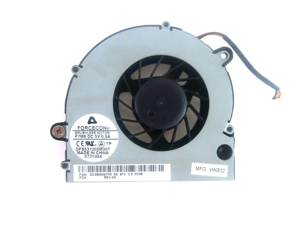 Вентилятор для ноутбука Acer Aspire 5334, 5734Z; eMachines E527, E727, Gateway NV51 3pin connector