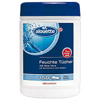 Alouette Feuchte Tücher im Spender - Влажные салфетки в упаковке с дозатором