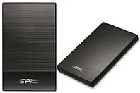Внешний жёсткий диск HDD 2.5'' 2TB SILICON POWER USB3.0 Diamond D05 Iron Gray