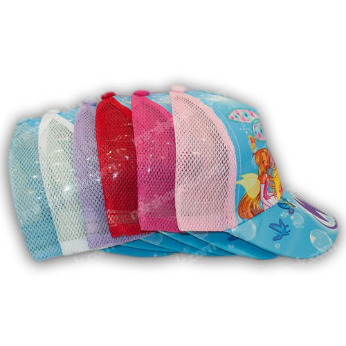 Бейсболки с сеткой для девочек
