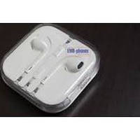 Гарнитура Apple iPhone 6/5S/5C EarPods white оригинал