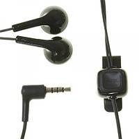 Гарнитура Nokia HS-125 WH-102 черная 3.5mm