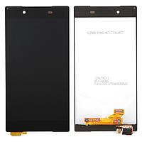 Дисплей сенсор Sony Xperia Z5 Dual Premium E6603, E6653, E6683 черный