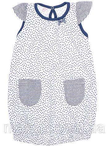 Оригинальное  летнее  платье для девочки Татошка р.80-122, фото 2