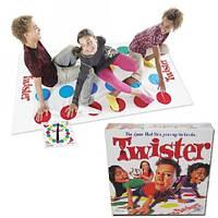 Напольная активная игра Твистер/Twister с рулеткой