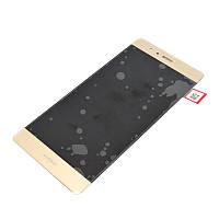 Дисплей для Huawei P9 с тачскрином golden