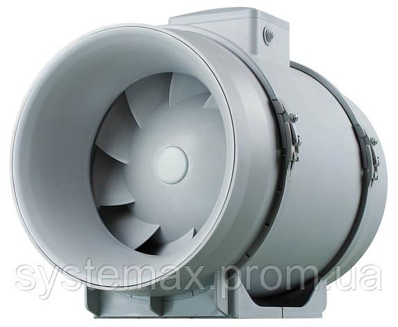 ВЕНТС ТТ ПРО 125 - канальный вентилятор смешанного типа , фото 2
