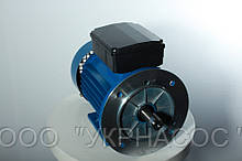Электродвигатель однофазный 0,37 кВт 3000 об АИР МУТ 63 А2