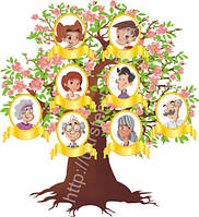 Стенд Моя родина (2321.1)