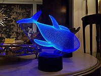 """Детский ночник - светильник """"Касатка"""" 3DTOYSLAMP, фото 1"""