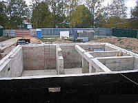 Заливка фундаментов, фото 1