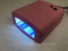 Лампа для маникюра UV Nail 818 36Вт Розовая