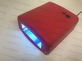 Лампа для маникюра UV Nail 818 36Вт Красная