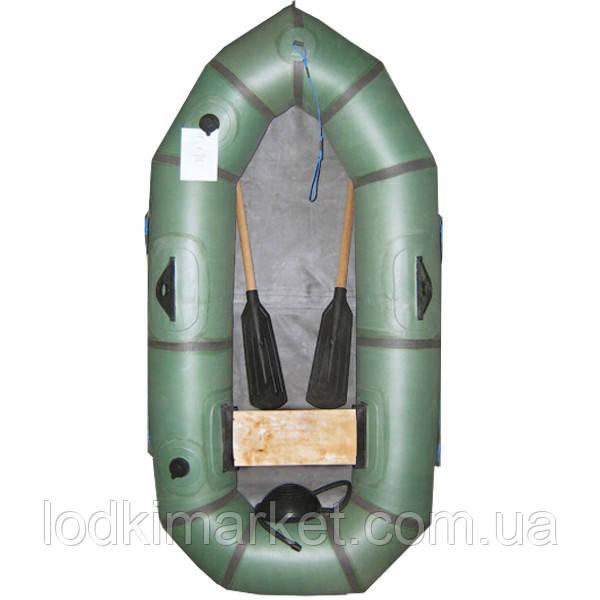 Одноместная надувная резиновая лодка Стриж 1-БЦК