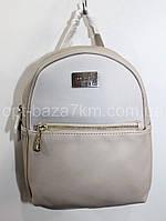 Рюкзак женский David Jones, экокожа (25х19 см) купить оптом 7км