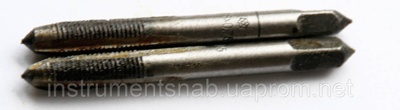 Метчик ручной М-6х0,75;У-7А; к-т (мелкий шаг)
