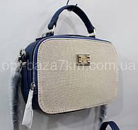 ba3e5bd43a17 Клатч женский David Jones, кожзам/текстиль (20х16 см) купить оптом со склада