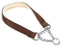 DAYTONA CSS15/40 BROWN  ошейник с металлической цепочкой для собак Ferplast