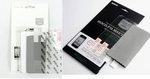 Защитная плёнка для iPhone 5 FB - Hoco Матовая на заднюю часть и на экран
