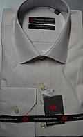 Приталенная бежевая рубашка GUISEPPE GENTILE (размеры S.M.L.XL.XXL)