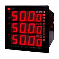 Щитовой универсальный измеритель с функциями контроля показателей качества электроэнергии ЩМК96