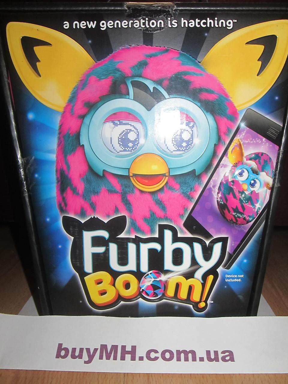 Ферби Бум Фиолетовые штрихи Furby Boom Purple Houndstooth, фото 1