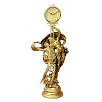 Каминные часы c маятником Влюбленная пара Jibo 123