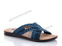 Шлепки мужские Selena LS-Aflex джинс 2 (40-44) - купить оптом на 7км в одессе