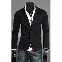 Мужской классический приталенный пиджак на все сезоны, фото 1