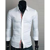 Современная мужская классическая рубашка