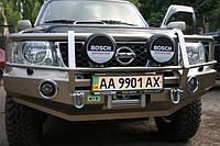 Силовой бампер для Nissan Patrol