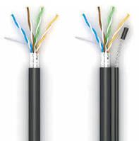 Кабель КППЭт-ВП 100 420.51 FTP-cat.5E. OK-net. СU. изоляция ПЭ. экр. с трос. 70.5 для наружных работ