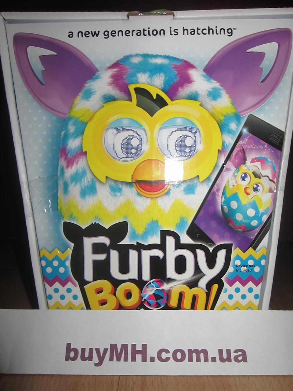 Ферби Бум пасхальный русский язык (Furby Boom Plush Toy Pastel), фото 1