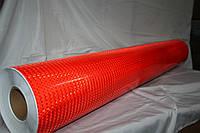 Светоотражающая лента в рулоне красная