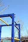 Спортивний дитячий комплекс для вулиці з гіркою, фото 7