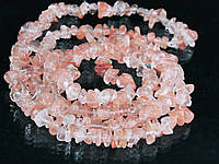Крошка из кварца-черри 90см, розовая