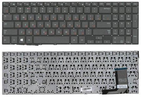 Клавиатура для ноутбука Samsung NP450R5, 450R5V, NP450R5E, NP450R5V черная