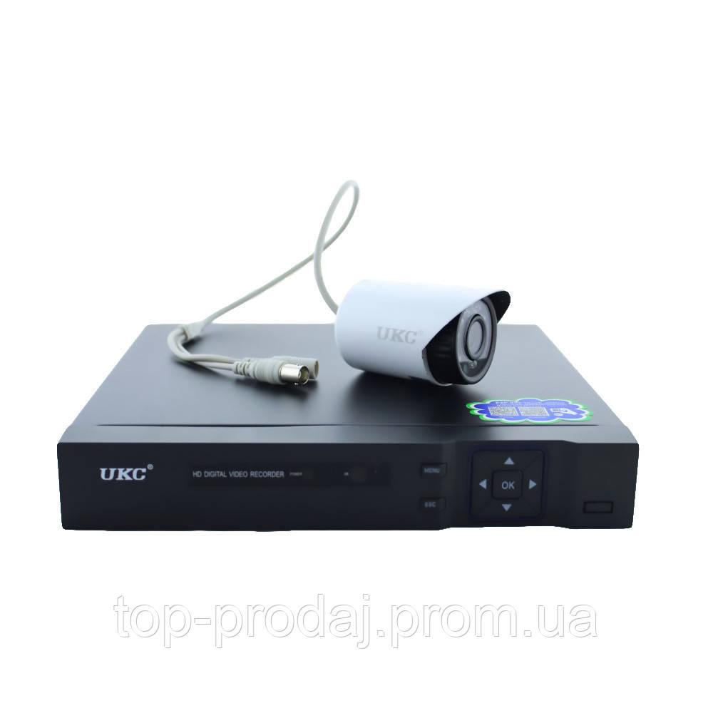 DVR KIT CAD D001 2mp8ch, Комплект видеонаблюдения на 8 камеры, База регистратор для видеонаблюдения+ 8 Камер
