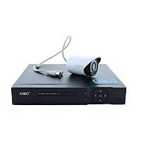 DVR KIT CAD D001 2mp8ch, Комплект видеонаблюдения на 8 камеры, База регистратор для видеонаблюдения+ 8 Камер, фото 1